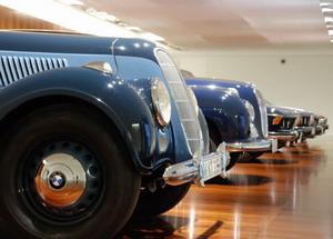 Экспозиция музея BMW в Мюнхене