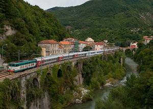 Поезд в Европе