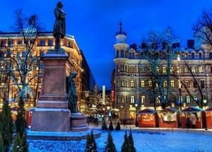 Погода в Хельсинки в декабре