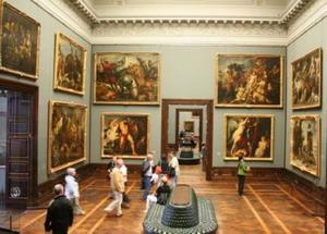 Картины в дрезденской галерее