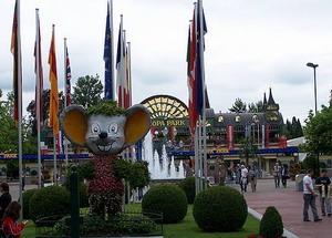 Евромаус на входе в парк