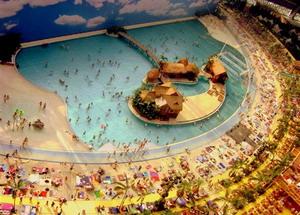 Тропическое море в аквапарке
