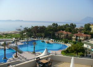 Отель в Турции первой линии