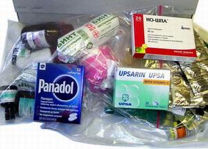 Аптечка для отдыха в Турции