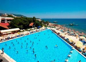 Отель в Турции с песчаным пляжем