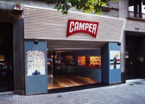 Обувной магазин Camper в Барселоне