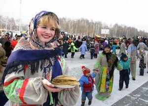 Масленница в России