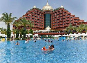 Отель пять звезд в Анталии в Турции Delphin Palace Deluxe