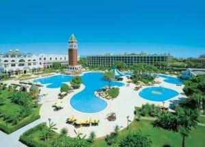 Пятизвездочный отель Venezia Palace Deluxe Resort Hotel в Анталии