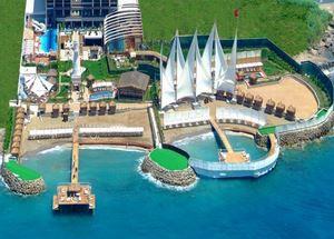 Вид сверху на отель Adenya Hotel & Resort 5*