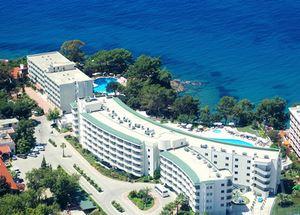 Панорама отеля Alara Hotel 4* в Алании