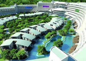 Вид на отель Cornelia Diamond Golf Resort & SPA в Белеке