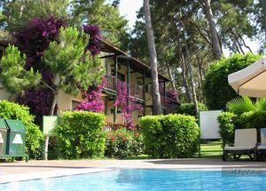 Сад в отеле Turquoise Resort Hotel & Spa 5* в Сиде