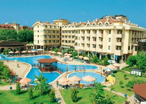 Панорама отеля Club Kastalia 4 звезды в Алании