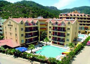 Панорама отеля 3 звезды Club Palm Marmaris
