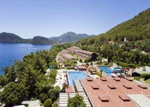 Панорама отеля Grand Yazici Club Mares 5 звезд в Мармарисе