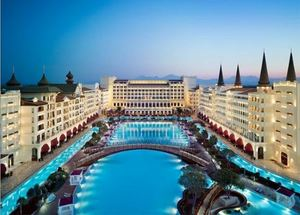 Панорама отеля Mardan Palace 5* в Анталии