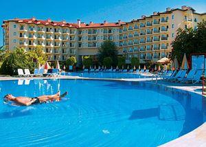 отели Турции 4 звезды в Сиде все включено песчаный пляж