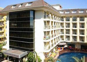 Вид на отель Sultan Sipahi Resort 4* в Алании