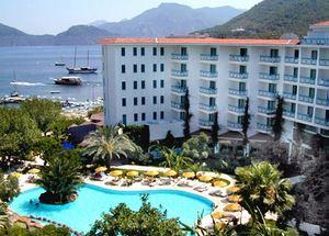 Панорама отеля Tropikal 4* в Мармарисе