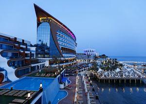 Вид на отель Granada Luxury Resort and Spa 5* в Аланье