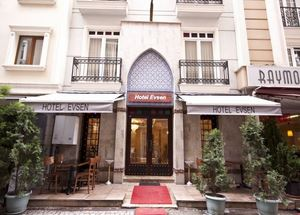Отель Evsen Hotel Istanbul 3 звезды в районе Султанахмет