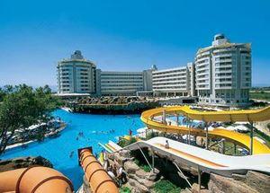 Аквапарк в отеле Lares Park Hotel в Анталии