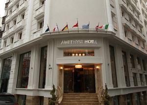 Отель Amethyst Hotel в Стамбуле район Лалели