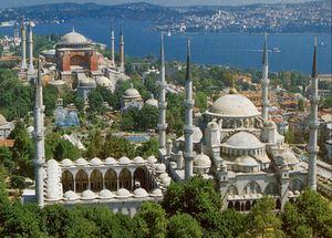 Отели в Стамбуле на берегу Мраморного моря