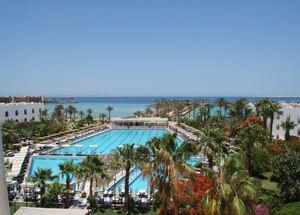 Панорама отеля Arabia Azur 4 звезды в Хургаде Египет