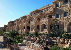 Вид на здание отеля Citadel Azur Sahl Hasheesh Grand Resort 5*