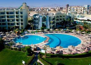 Панорама отеля Premium Grand Horizon 4* Хургада Египет