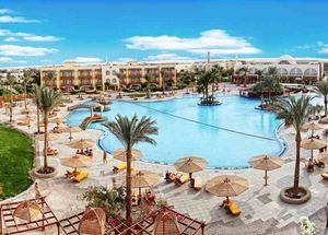 Панорама отеля The Desert Rose Resort 5* в Хургаде Египет