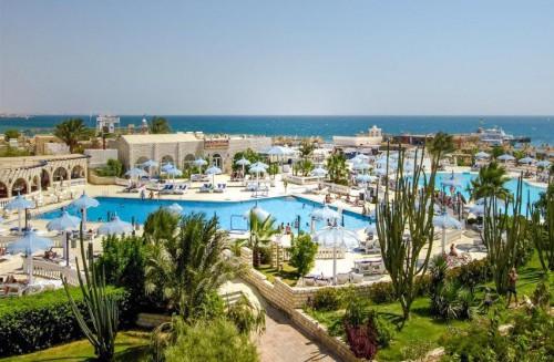 Отель Aladdin Beach Resort 4 звезды Хургада Египет