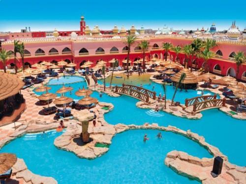 Отель 4 звезды Alf Leila Wa Leila в Хургаде Египет