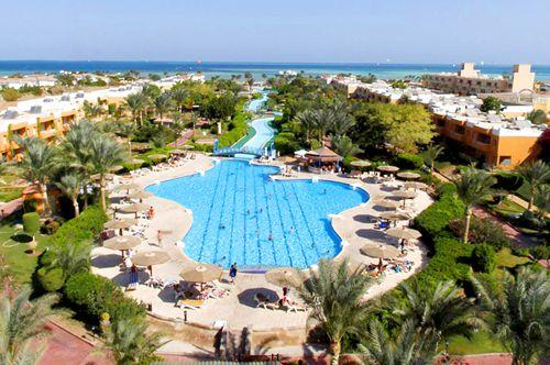 Панорама отеля 4 звезды Club Calimera Hurghada в Хургаде Египет