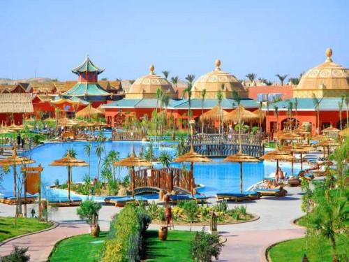 Отельный комплекс Jungle Aqua Park Hotel 4* в Хургаде