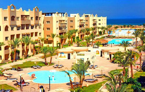 Отель 4 звезды Nubia Aqua Beach Resort Хургада Египет