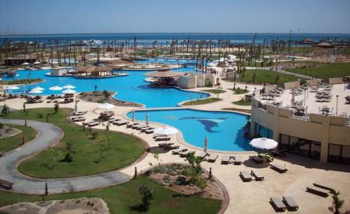 Отель 5 звезд с аквапарком Steigenberger Al Dau Beach Хургада Египет