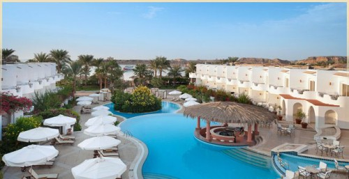 Вид на отель IBEROTEL PALACE 5* Шарм эль Шейх