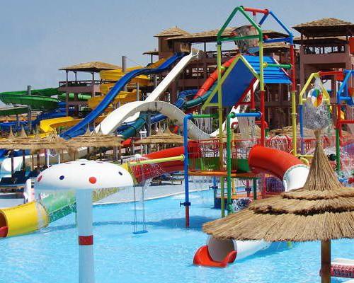 Отель 4 звезды Jungle Aqua Park в Хургаде Египет