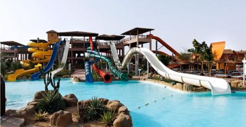 Аквапарк в отеле Jungle Aqua Park 4*