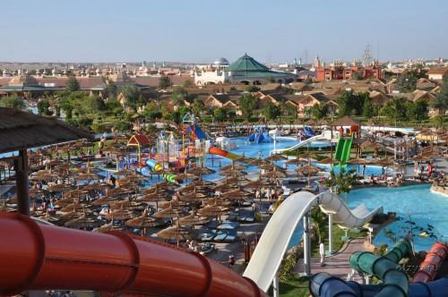 Панорама отеля Альбатрос Джангл 4* в Хургаде