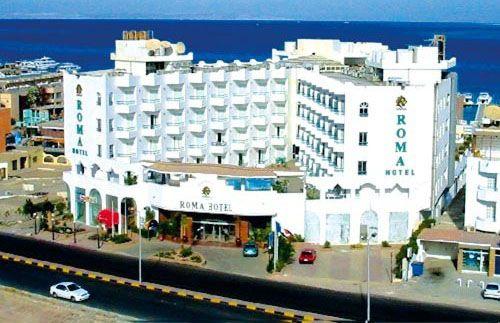 Здание отеля Roma Hotel Hurghada 4*