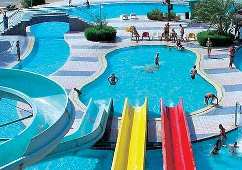 Аквапарк в отеле Sindbad Beach Resort 4*