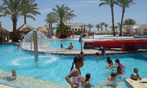 Детские развлечения в отеле Sindbad Beach Resort 4*