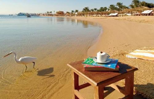 Пляж отеля Sindbad Beach Resort 4*