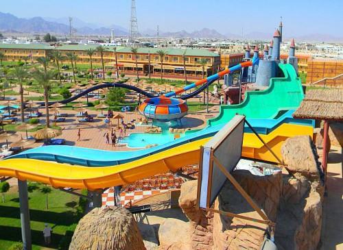 Аквапарк Клео-парк в Шарм эль Шейхе
