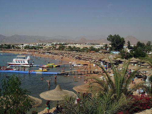Пляж бухты Наама Бей