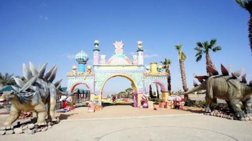 Вход в парк «Голливуд» в Шарм-эль Шейхе